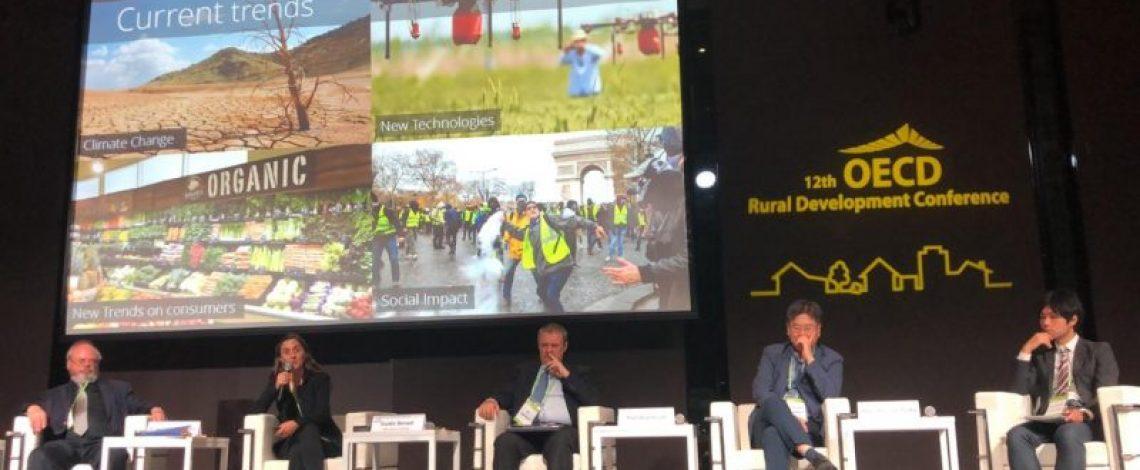 Directora de Odepa presenta estrategia de desarrollo rural ante países de la OCDE en Corea