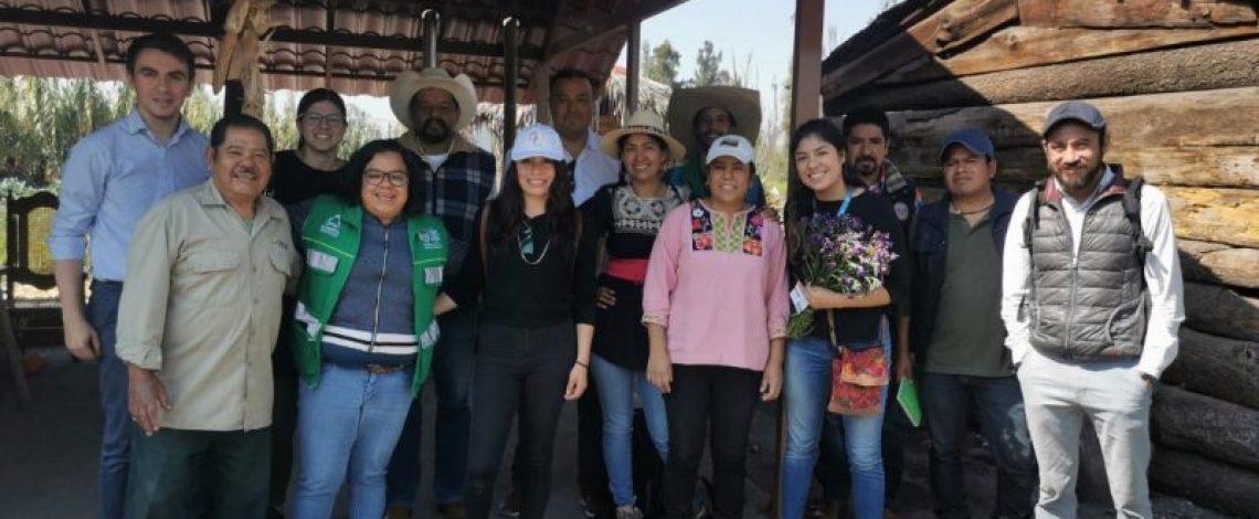 Departamento de Desarrollo Rural visita México para intercambiar experiencias y conocer trabajo en terreno