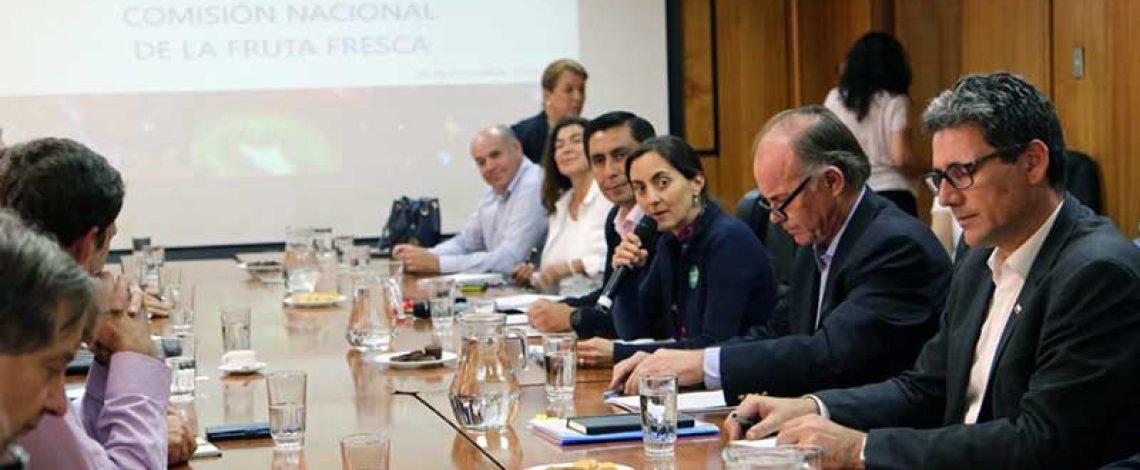 Se reunió la Comisión Nacional de la Fruta