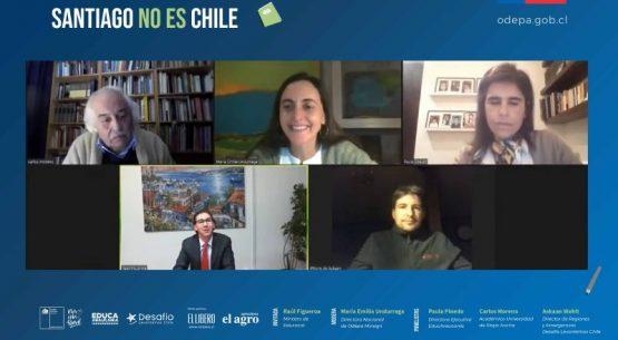 Ministro Figueroa participa de la segunda sesión de los Diálogos Rurales «Santiago no es Chile»