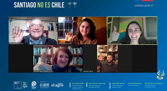 Ministra Consuelo Valdés participa del tercer capítulo de los Diálogos Rurales «Santiago no es Chile»