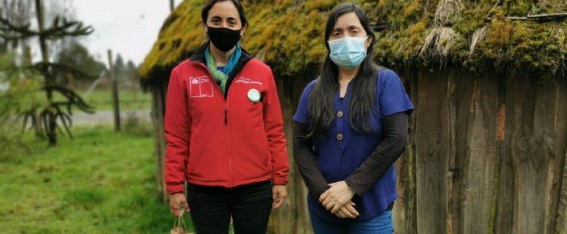 """Directora de Odepa: """"Venimos a escuchar las necesidades del mundo rural para poder apoyarlos con acciones concretas""""."""