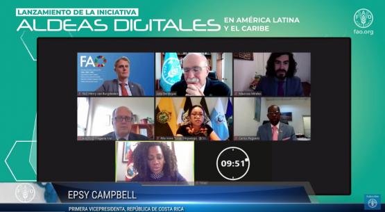 """Director (s) de Odepa participa del lanzamiento de la iniciativa """"Aldeas Digitales en América Latina y el Caribe"""""""