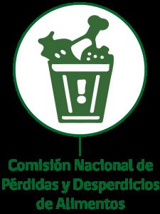 Logo d ela Comisión nacional d Pérdidas y Desperdicios de Alimentos